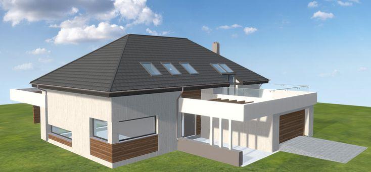 Projekt domu HomeKoncept-28 269,3 m2 - koszt budowy - EXTRADOM