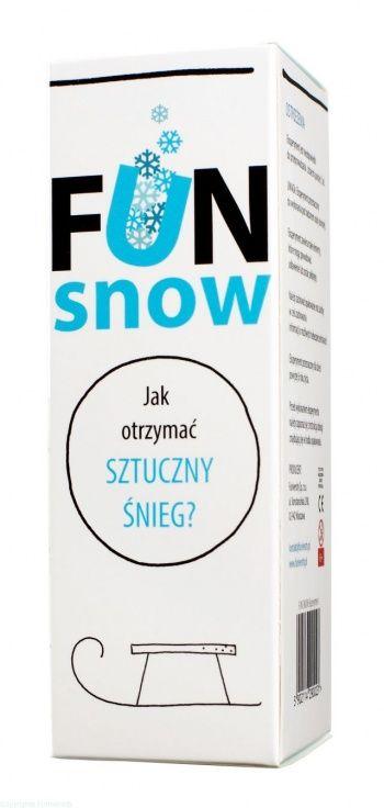 Zestaw do robienia eksperymentów FUNiversity - Jak otrzymać sztuczny śnieg?