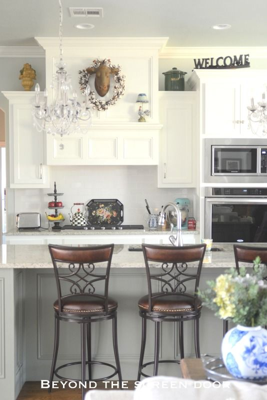 A Classic White Kitchen | Beyond The Screen Door