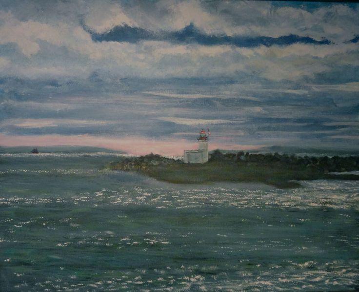 marine art briankillinart Parsboro NS tide in
