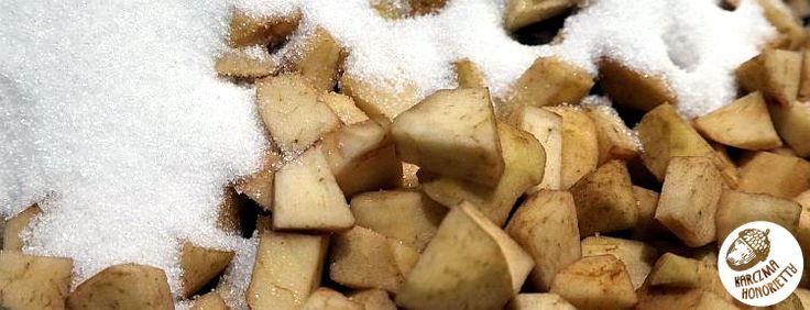 Karczma Honorietty - czyli jadło jak TRZA!: Karmelizowane jabłka