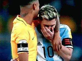 Aren't they supposed to be rivals?  Brazil vs Argentina