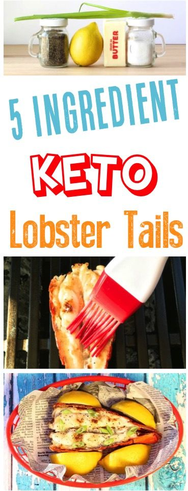 Keto Recipes Easy Dinners! These Delicious Low Carb Lobster Tails are packed with flavor ant the perfect addition to your Ketogenic Diet. Add them to your menu this week!