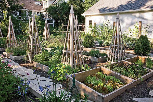 Les 38 meilleures images du tableau bordures de jardin sur for French kitchen garden design