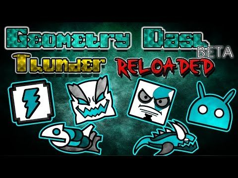 (17) Geometry Dash | Texture Pack - Thunder RELOADED | [BETA] | ANDROID & STEAM | CLAIMED1 - YouTube