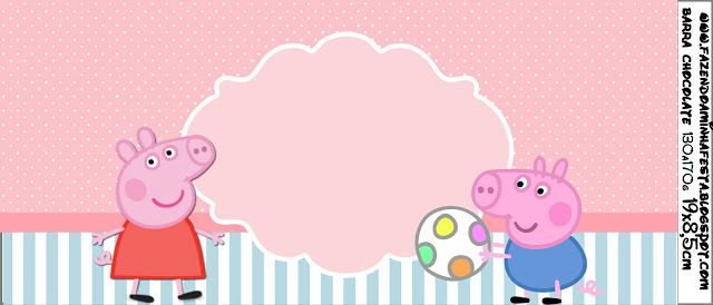 Peppa Pig: Free Printable Labels and Toppers.  Labels For EVERYTHING!!!