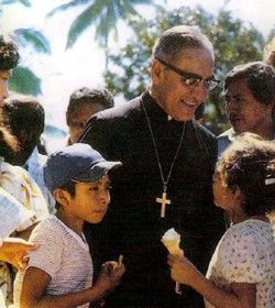 Father Óscar Romero of El Salvador, one of my greatest heroes.