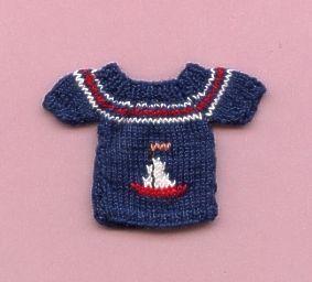Puppen Pullover
