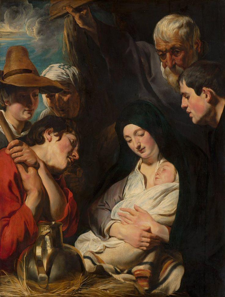 Προσκύνηση των ποιμένων (1617) Μουσείο Τέχνης Μαουριτσχάους στην Χάγη της Ολλανδίας