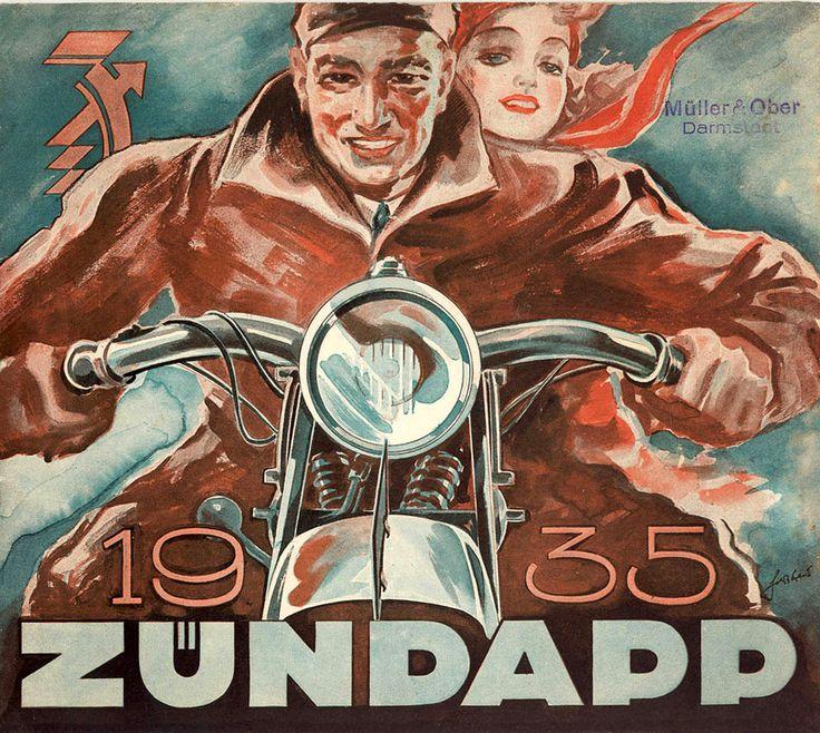 1935 Zundapp ecstacy   by bullittmcqueen