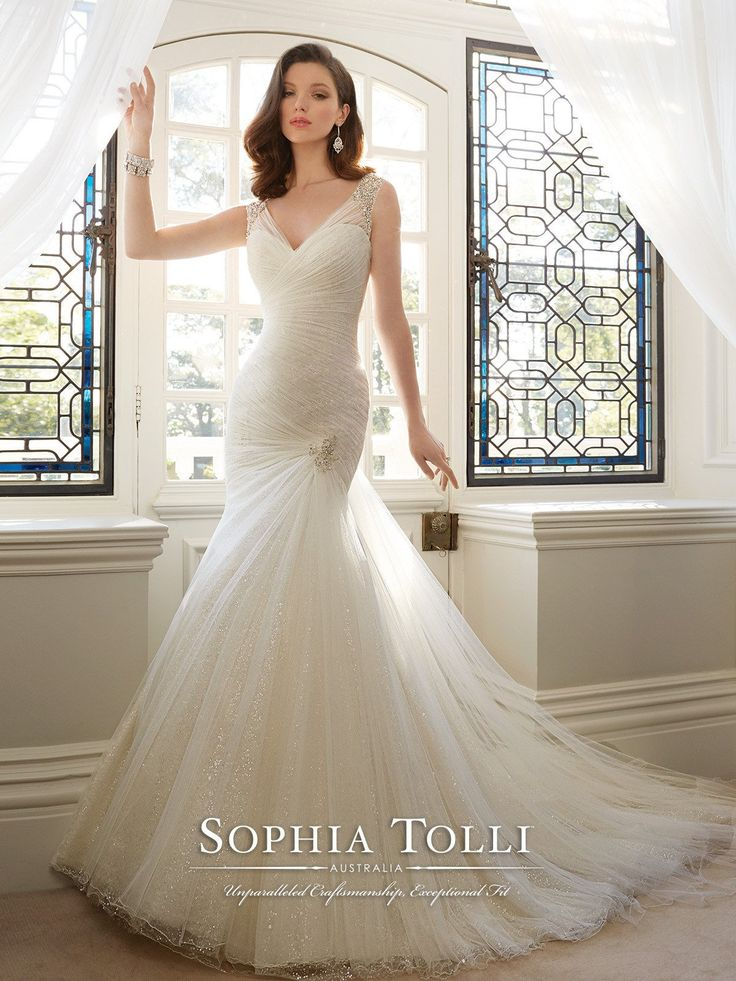 Fabulous Sophia Tolli Candace Y All Dressed Up Bridal Gown
