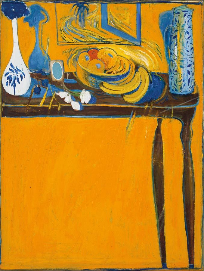 Table and Fruit - BRETT WHITELEY, 1978