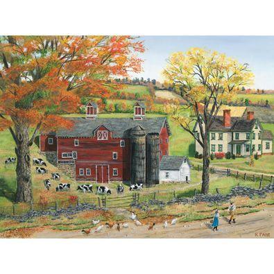 Autumn Pasture 1000 Piece Jigsaw Puzzle