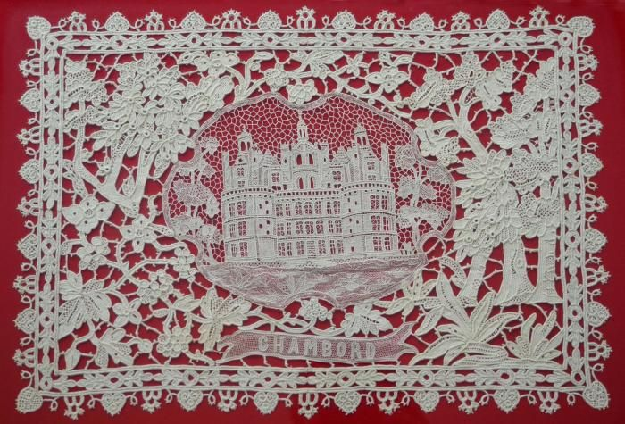 French Chateau - in Needle lace - gorgeous!!!