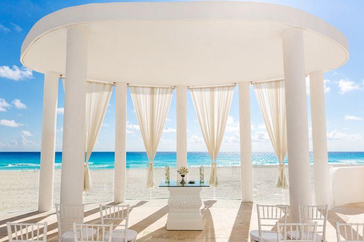 Le Blanc Spa Resort, a breathtaking wedding venue for destination weddings. #WeddingIdeas
