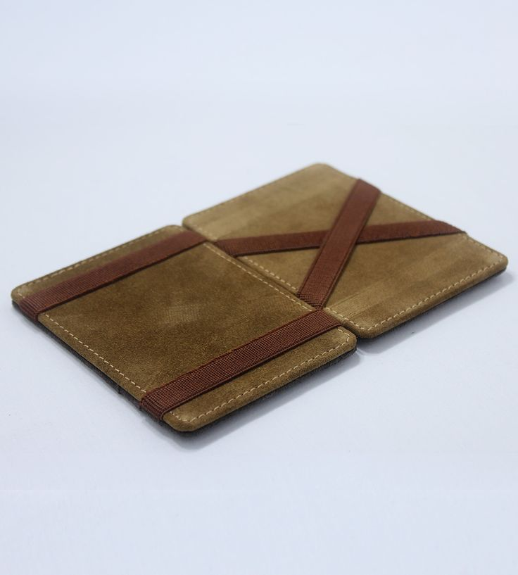 This leather wallet comes with a sleek minimalistic charm. The wallet is handcrafted from pure calf leather giving it a smooth classic finish on the outside and a soft feather touch feel on the inside. The construction of the wallet gives it ample sturdiness to hold six credit cards while snugly securing your bills. This wallet defines pure handcrafted luxury with a dash of magic.