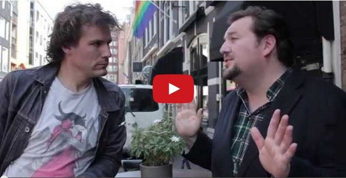 If gay guys talked to straight guys like straight guys talk to gay guys.  |  Comedian Daniel-Ryan Spaulding compiled a bunch of cliche things straight guys have said to him before, and now he's trying the same remarks out on his straight friend…