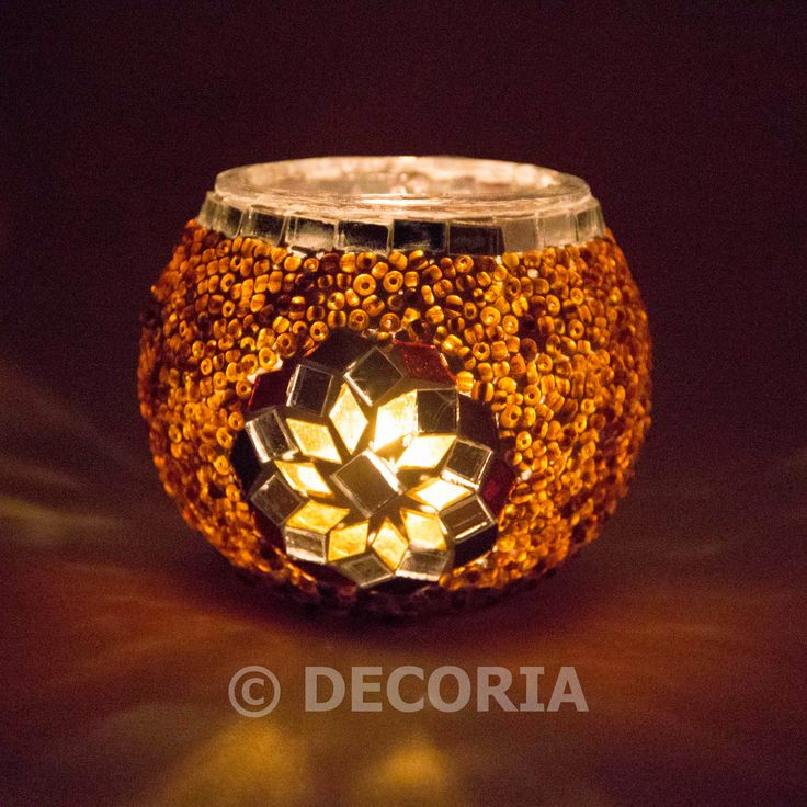 Candle Holder - Gold - DECORIA HOME & GIFT