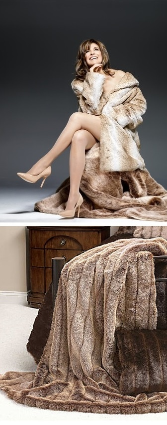Actress Linda Gray Dallas TV Show People Magazines Most Beautiful People of 2013, we are proud to have supplied the faux furs throws, enjoy