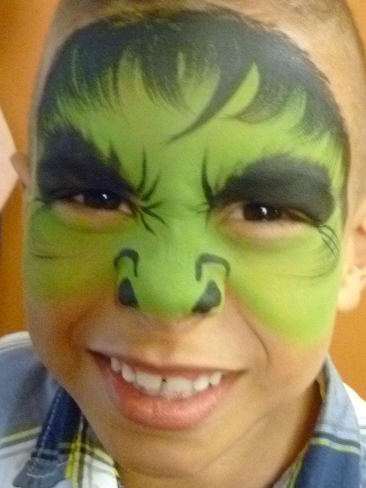 facepainting hulk - Buscar con Google