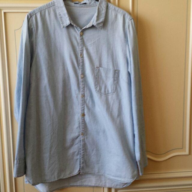 VENDO Camicia in jeans chiarissimo taglia L Brandy e Melville ...
