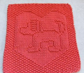 Knit Dishcloth Pattern Horse : 1000+ images about doekjes breien en haken op Pinterest - Filet crochet, Brei...