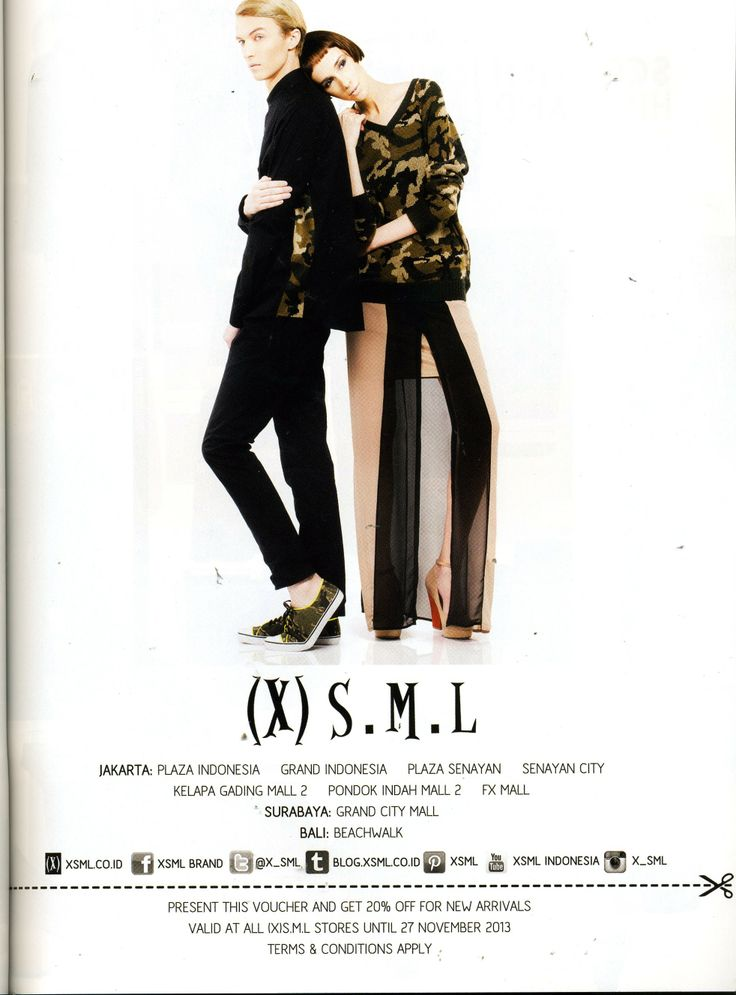 (X)S.M.L ads is appeared on High End Teen - November 2013