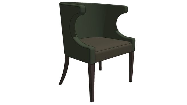 WING TUB CHAIR - 3D Warehouse