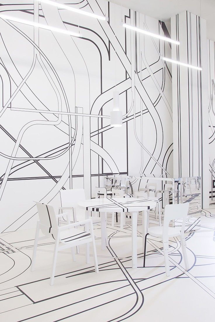 Logomo Cafe, Finland. 14 Chic and Cool Cafés Around the World via @MyDomaine