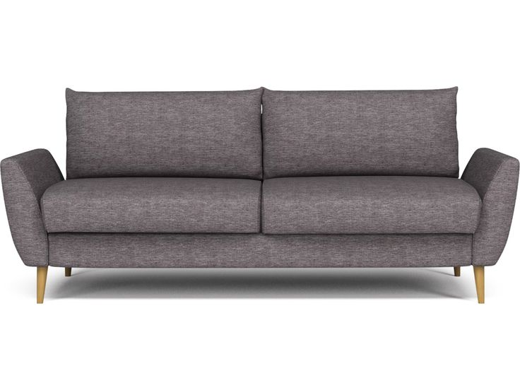 Sofaen Cut har en pen fasong, også sett fra baksiden, som sammen med de høye ryggputene gir en fantastisk sittekomfort. Alt overflødig er tatt ut av designen, som bæres av vinklede armlener som åpner opp sofaen og innbyr til å sitte i den. Alt i alt en flott sofa med et stilig, klassisk utseende.
