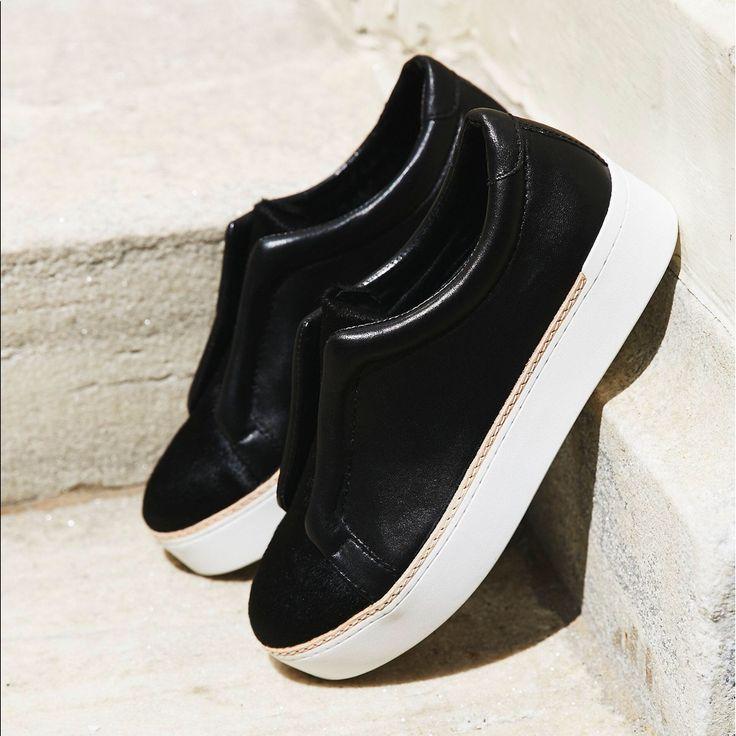 Free People Slip On Mage Sneaker Black