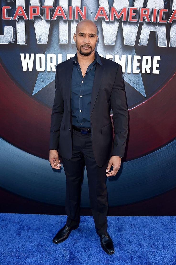 Henry Simmons at Captain America: Civil War Premiere