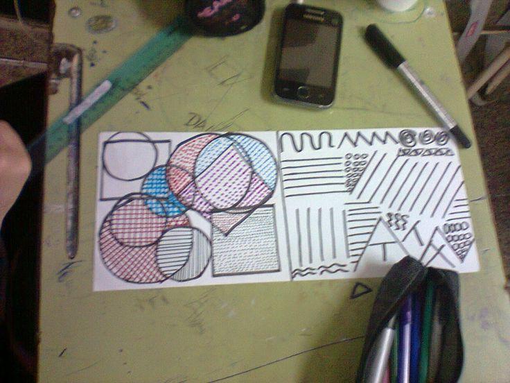Artes visuales I y II en el secundario