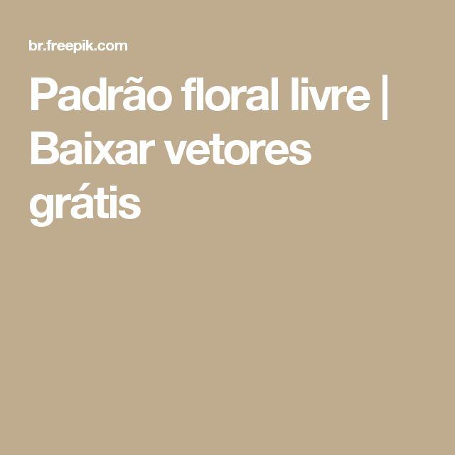 Padrão floral livre    Baixar vetores grátis