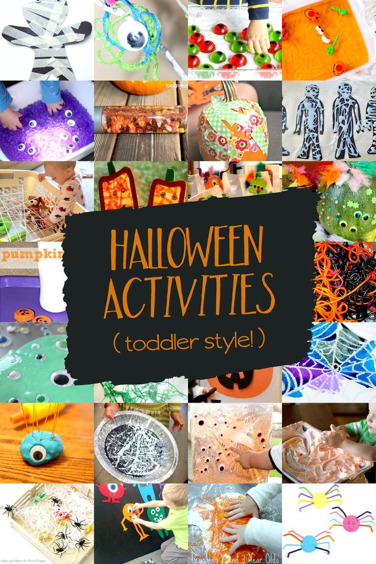 25+ best ideas about Halloween activities for toddlers on ...