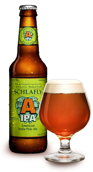 """Schlafly gets another pin on my board.  This is a great beer.  Aroma of grapefruit and other citrus drew me in and the combination of bitter and malt keeps me coming back.  I put an extra six pack in the """"Man Cave"""" just in case."""