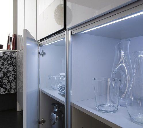 Iluminaci n leds en los muebles de cocina kansei for Muebles de cocina fiona