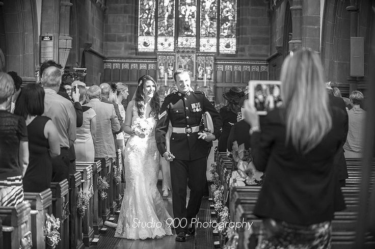 Wirral Wedding Photography By Studio 900 Photographers At St Peters Church Lower Heswall