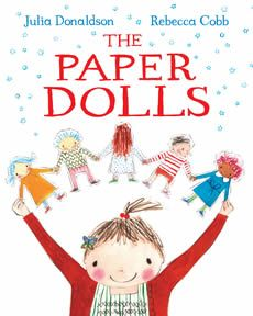 The Paper Dolls by Julia Donaldson.  A lovely book to set a child thinking.