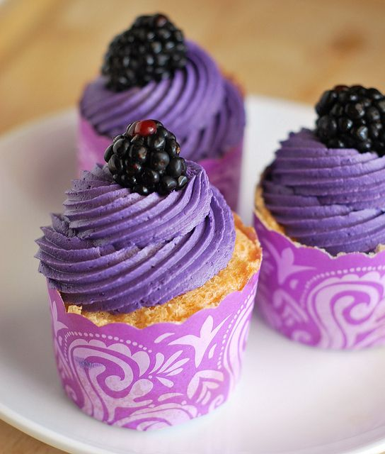 Blackberry Buttercream by fakeginger, via Flickr