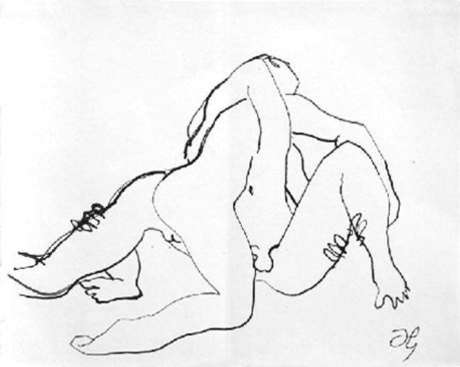 Дункан Грант (1885–1978гг). «Борцы».