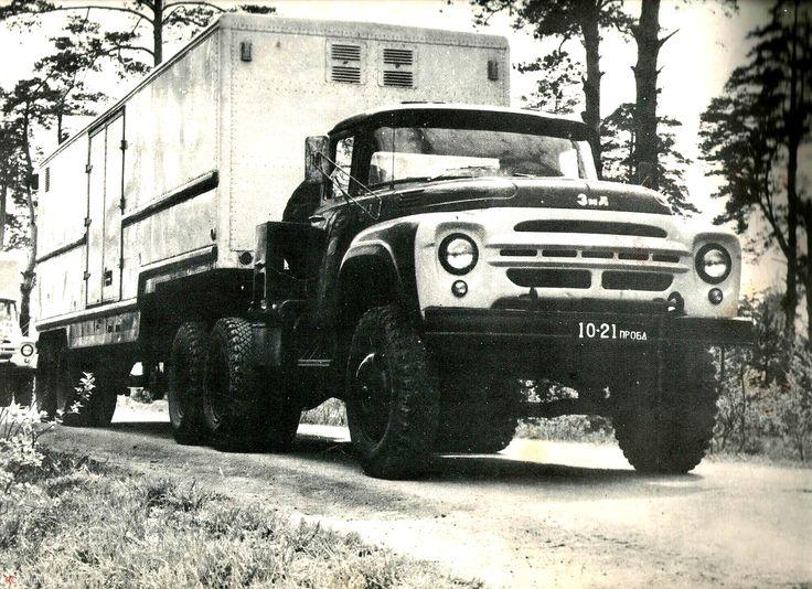 02 ЗИЛ-133В и 130В(фото из календаря ЗИЛ на 1978 год