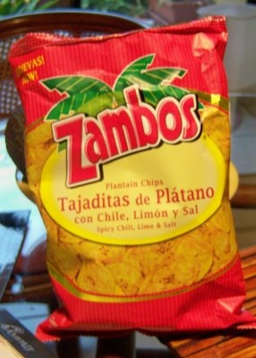 Honduran Plantain chips! love when family comes over and bring us bags of these ;)