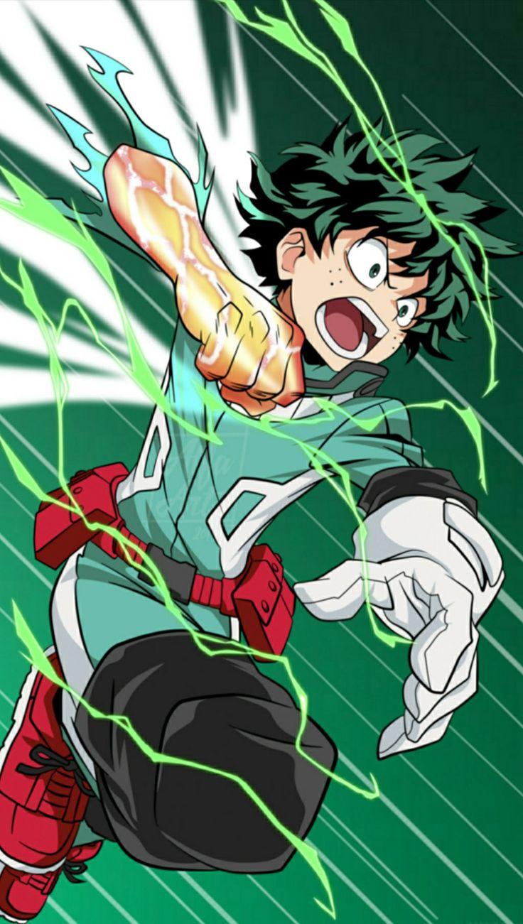 Midoriya Izuku Hero wallpaper, Anime lovers, Deku boku