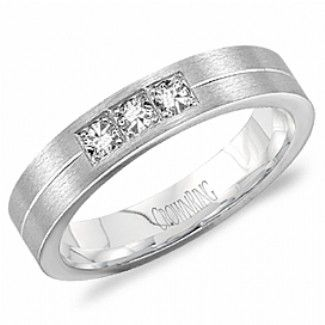 Crown Ring - Collections Wedding Bands Diamond Bands Wb 8188 M6