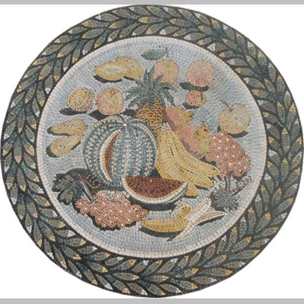 45 Best Mosaic Fruits & Veggies Images On Pinterest
