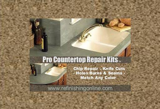 Countertop Paint Repair : Repair A Laminate Or Corian Countertop - Types of countertops, repairs ...