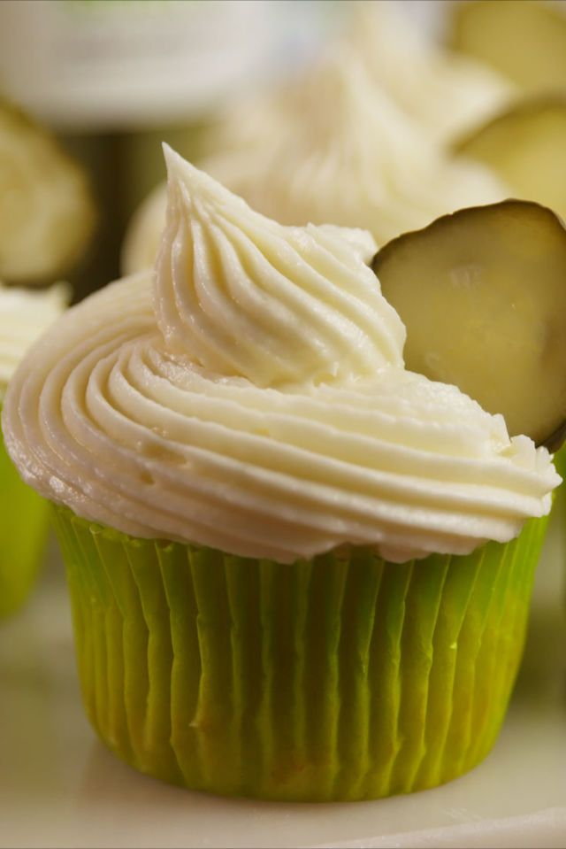 Pickle Cupcakes - YES I did say ~~Pickle cupcakes~~LOL