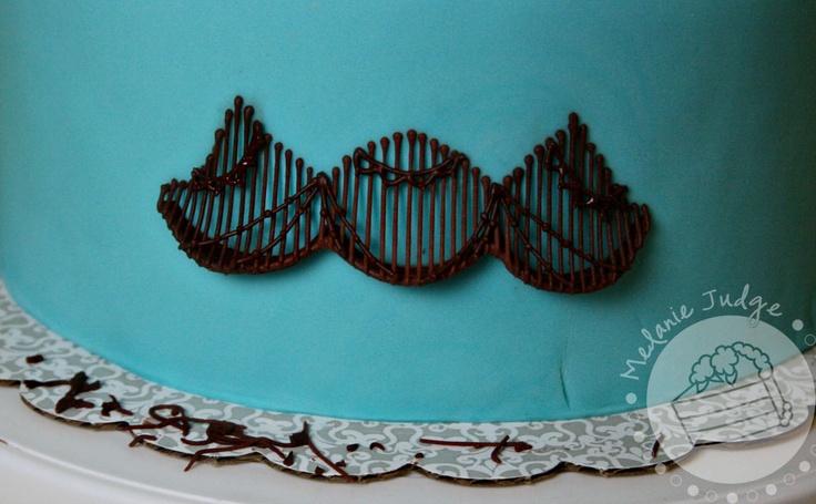 Cake walk stringwork with a bridge part 2 cake cake