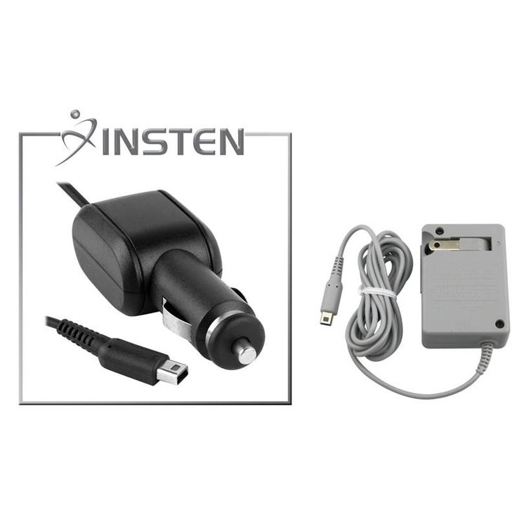 Travel Charger/ Insten Car Charger for Nintendo Dsi/ NDSi/ 3DS XL